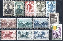 Océanie Ozeanien Y&T 180*, 181*, 182**, 183* - 1190*, 194*, 202* - Unused Stamps
