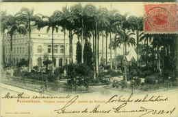 BRAZIL - PERNAMBUCO THEATRO SANTA IZABEL - JARDIM - EDIT COSTA 1904 (BG1425) - Brazil