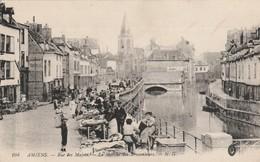 Somme : AMIENS : Rue Des Majots - Le Marché Des Brocanteurs - Amiens