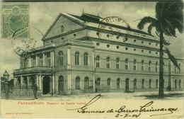 BRAZIL - PERNAMBUCO - TEATRO DE SANTA IZABEL - EDIT M. COSTA 1900s (BG1420) - Brazil