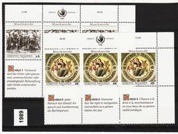 SRO83 VEREINTE NATIONEN UNO WIEN 1989 Michl 96/97 ** Postfrisch - Wien - Internationales Zentrum