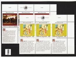 SRO84 VEREINTE NATIONEN UNO WIEN 1990 Michl 108/09 ** Postfrisch - Wien - Internationales Zentrum