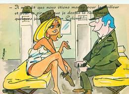Humour  Militaire Pin Ups  Par Peter Mann  W 68 - Humour