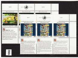 SRO86 VEREINTE NATIONEN UNO WIEN 1992 Michl 139/40 ** Postfrisch - Wien - Internationales Zentrum