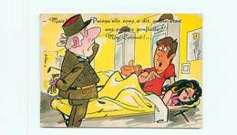 Humour  Militaire Pin Ups  Par Peter Mann  W 69 - Humour