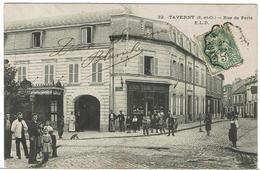 CPA - 95 - TAVERNY - Rue De Paris - 1907 - Taverny
