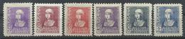 ESPAÑA , EDIFIL  855/60   MH  * - 1931-Today: 2nd Rep - ... Juan Carlos I