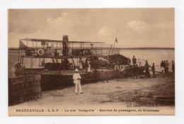 - CPA BRAZZAVILLE (Congo) - Le S/m Congolia - Service De Passagers, De Kinshasa - Cliché R. L. - - Brazzaville