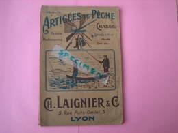 ARTICLES De PECHE Ets. LAIGNIER à Lyon 126 Pages 16X24 TBE Pas De Date Estimation 1920/30 - Pêche