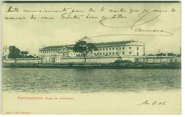 BRAZIL - PERNAMBUCO - CASA DE DETENCAO - EDIT M. COSTA 1900s (BG1413) - Brazil