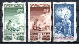 Océanie Ozeanien Luftpost Y&T PA 4* - PA 6*, PA 7* - PA 13*, PA 18* - Unused Stamps
