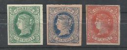 ANTILLAS ESPAÑOLAS  EDIFIL  10/12    MH * - Cuba (1874-1898)