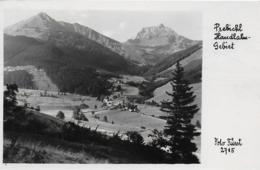 AK 0097  Prebichl - Handlalm-Gebiet / Foto Fürst Um 1950 - Eisenerz