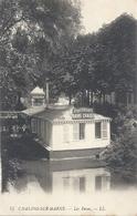 CHALONS-SUR-MARNE . LES BAINS . ( HYDROTERAPIE.BAINS CHAUDS - DOUCHES ) ECRITE AU VERSO LE 14-8-1918 - Châlons-sur-Marne