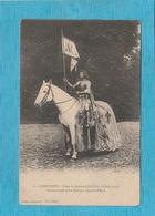 Compiègne, 1914. - Fêtes De Jeanne D'Arc, 8 Et 15 Juin 1913. - Mademoiselle Alice Dumars ( Jeanne D'Arc ). - Compiegne
