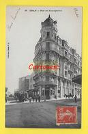 Algérie ¤¤ Oran ¤¤ Rue De Mostaganem ( Tram Dans Le Fond ) ¤¤ Collect. Idéale N°97 ¤¤ 1908 - Oran
