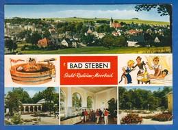 Deutschland; Bad Steben; Multibildkarte - Bad Steben