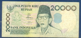 Indonesia 20000 Rupiah 1998 - Indonésie