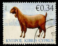 Chypre - Zypern - Cyprus 2010 Y&T N°1191 - Michel N°1176 (o) - 0,34€ Chèvre - Chypre (République)