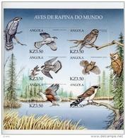 Angola 2000-Hiboux Et Autres Oiseaux-YT 1385/900***MNH - Angola