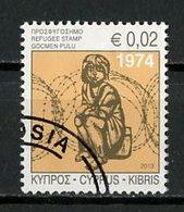 Chypre - Zypern - Cyprus 2013 Y&T N°1256 - Michel N°(?) (o) - 0,02€ Fonds Pour Les Réfugiés - Chypre (République)