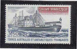 """V16 - TAAF - PA 63** MNH De 1980 - Bateau - """" SAINT MARCOUF """" - Terres Australes Et Antarctiques Françaises (TAAF)"""