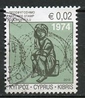 Chypre - Zypern - Cyprus 2018 Y&T N°(1) - Michel N°(?) (o) - 0,02€ Fonds Pour Les Réfugiés - Chypre (République)