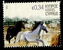 Chypre - Zypern - Cyprus 2012 Y&T N°1237 - Michel N°1227 (o) - 0,34€ Chevaux - Chypre (République)