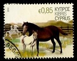 Chypre - Zypern - Cyprus 2012 Y&T N°1239 - Michel N°1229 (o) - 0,85€ Chevaux - Chypre (République)