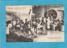 Épernay. - Caves Félix Potin. - Contenance : 2 Millions De Bouteilles - Un Des Chantiers De Tirage Des Vins De Champagne - Epernay