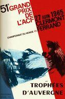 Car Automobile Grand Prix Postcard Clermont-Ferrand Auvergne 1965 - Reproduction - Pubblicitari