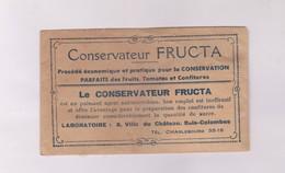 CONSERVATEUR FRUCTA DANS ENVELOPPE JAMAIS OUVERTE - Autres Collections
