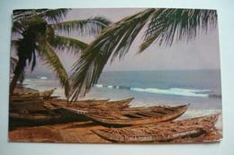 Ghana, Elmina, Coast, Us. 1962, Stamp. - Ghana - Gold Coast