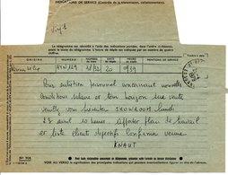 20-4-1979 Télégramme - France