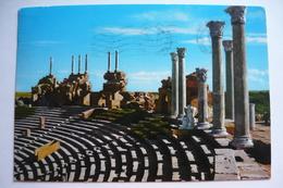 Libya, Tripoli, Leptis Magna, The Theatre, Us. 1975, Stamp - Libye