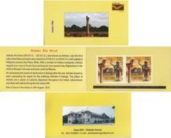 India 2016  Stamp Booklet  Ashoka Pillar  P&T Patna Issue   #15916  D  Inde Indien - India