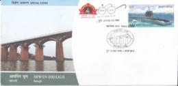 India   2018  Irwin Bridge  Sangli  Special Cover  #  16071  D  Inde Indien - Bridges