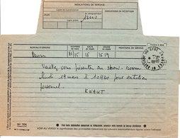 16-3-1979 Télégramme - France