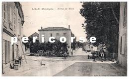 24  Lisle  Rue Principale Et Hôtel De Ville - France