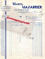 87- SAINT DENIS DES MURS- FACTURE MARCEL MAZAURIER-USINE DE BOIS DU RATEAU-FABRIQUE CONSERVES ALIMENTAIRES-1939 - Petits Métiers