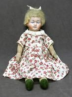 Giocattoli - Bambole Antiche - Bambola D'epoca In Pezza - Anni '30. - Andere Verzamelingen