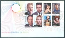 AUSTRALIA  - FDC - 22.1.2009 - AUSTRALIAN LEGENDS OF THE SCREEN - Yv 3005-3012 - Lot 18513 - Premiers Jours (FDC)
