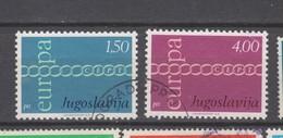 Yougoslavie Yvert 1301 / 1302 Oblitérés - 1971