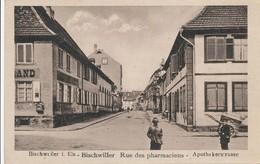 CPA - France - (67) Bas Rhin - Bischwiller - Rue Des Pharmaciens - Bischwiller