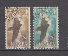 Espagne Yvert 1188 / 1189 Oblitérés - Europa-CEPT