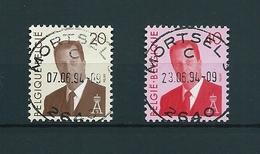 [2138] Zegel 2559 - 2560 Gestempeld - Belgique