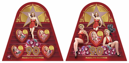 SOLOMON Isl. 2016 - Marilyn Monroe - YT 3285-8 + BF570; CV=35 € - Oddities On Stamps