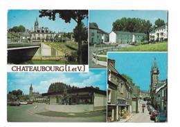 Chateaubourg - Le Bourg, Résidence Peupliers, Centre Commercial Bel Aire, Rue M. Leclerc - Andere Gemeenten
