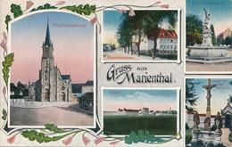 CPA - France - (67) Bas Rhin - Gruss Aus Marienthal - Autres Communes