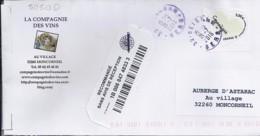 TP N° 5050D SUR LETTRE  RECOMMANDEE DU 21.07.16   ///RARE/// - 1961-....